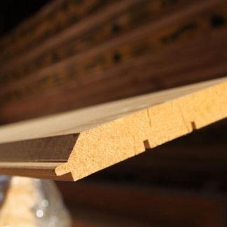 Имитация бруса лиственница